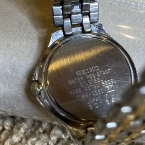 Seiko Accessories - Seiko Womens Watch Gold/Silver Water Resistant